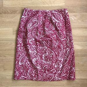 ANN TAYLOR floral skirt